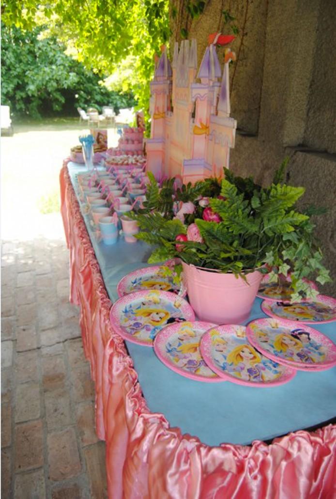 Festa di compleanno a tema principesseq