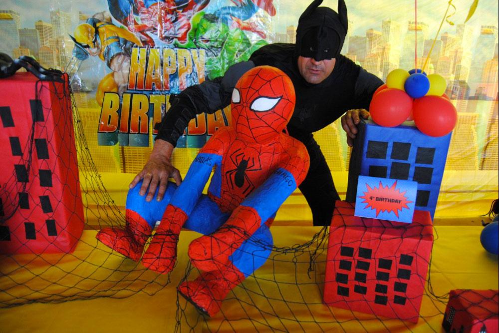 compleanno tema Spiderman Milano e in tutto il nord Italia, Spiderman ...
