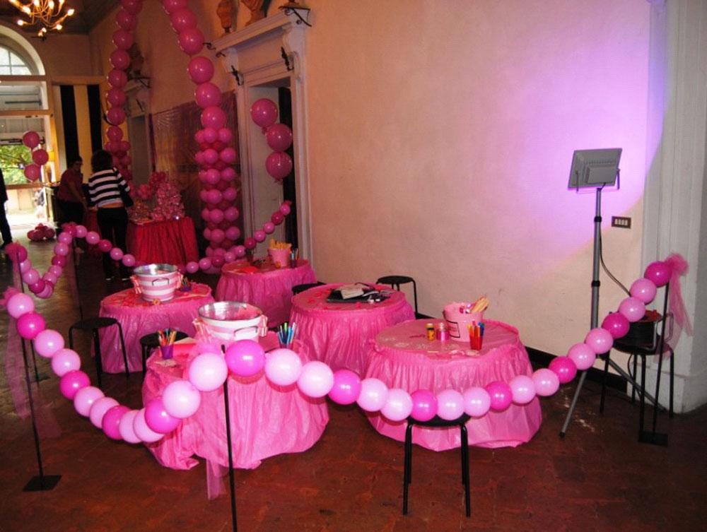 Festa compleanno bambini Bologna – Pink party di Ginevra