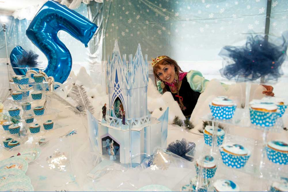Festa A Tema Frozen Festa Frozen Di Teodora
