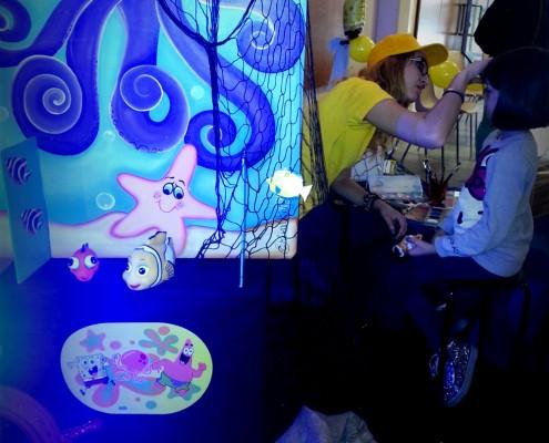 Festa tema Spongebob- Organizzazione compleanni bambini