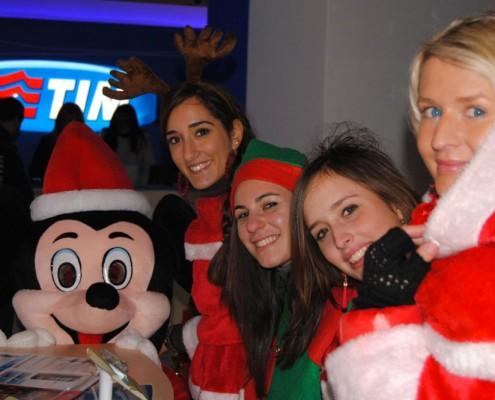 Feste di Natale nei negozi