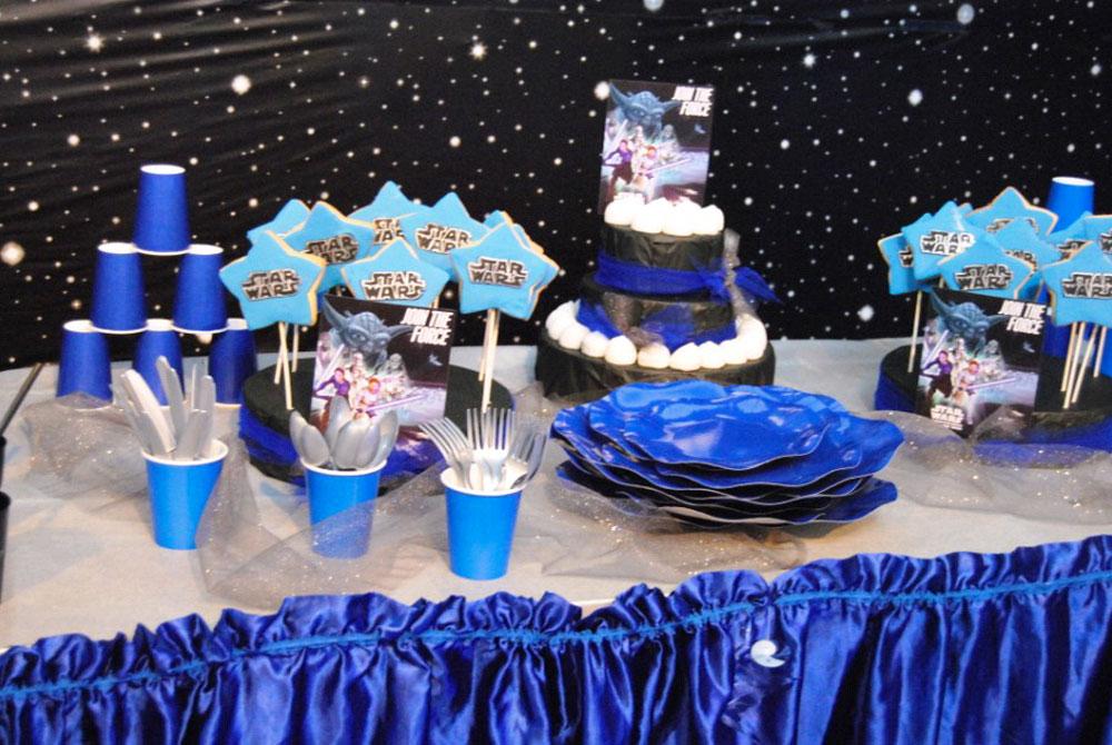 Eccezionale Feste di compleanno a tema per bambini - Star Wars Party UA64