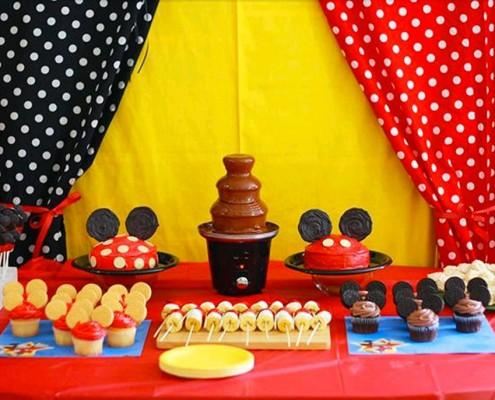 Festa tema Mickey Mouse