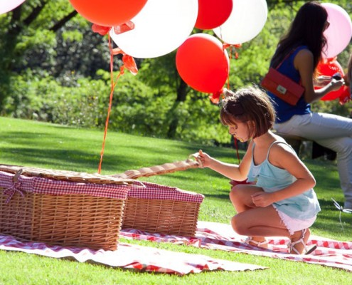 Pin nic party per bambine