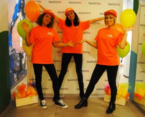 Organizzazione festa aziendale Swatch
