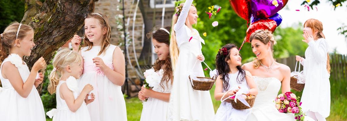 babysitter animazione bambini matrimoni