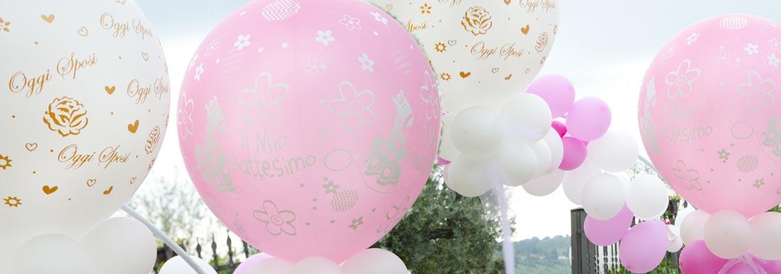 palloncini decorazioni effetti speciali