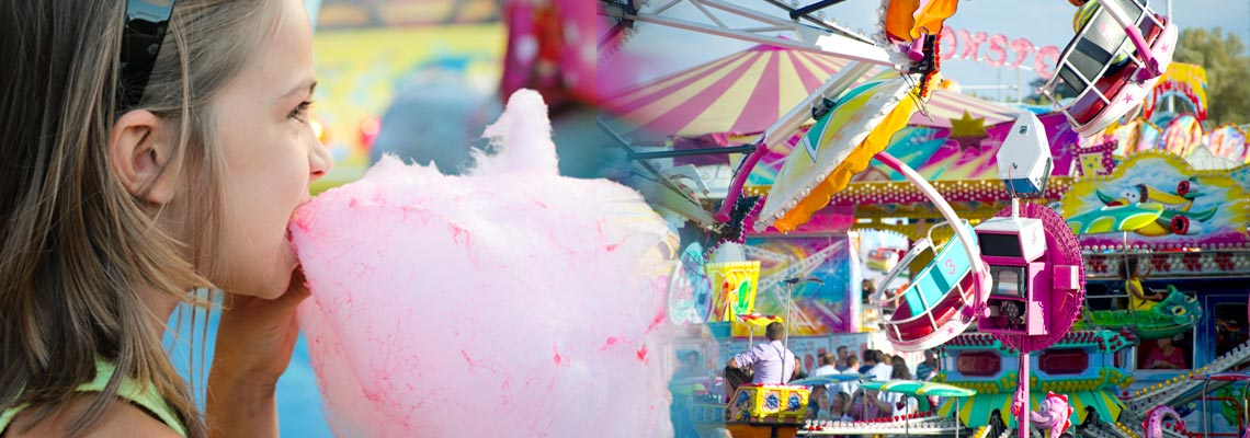 zucchero filato luna park
