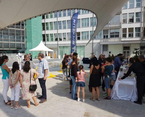 evento aziendale Michelin Milano 2016