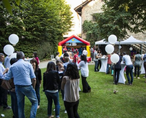 festa aziendale Vimercate Corte Rustica Borromeo