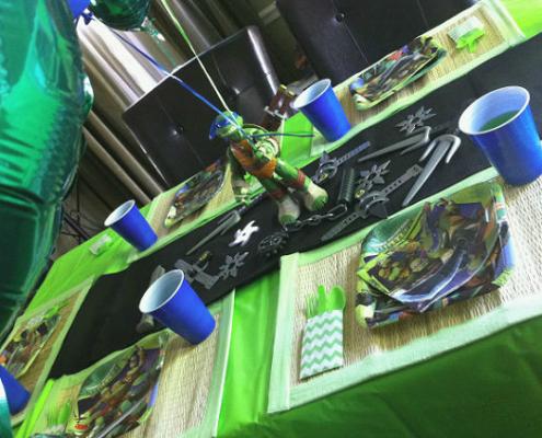 Festa a Tema Tartarughe Ninja festa Adam (3)