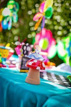 Festa a tema Alice nel Paese delle meraviglie 3